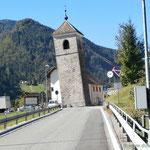 der schiefe Turm von Prato im Friaul
