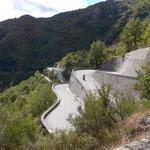 Col de Turini - bekannt von der Ralley Monte Carlo