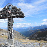 Colle della Fauniera mit phantastischem Ausblick