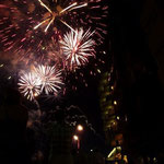 """das Feuerwerk zum Fest """"Hl. Johannes"""" (die küzeste Nacht des Jahres)"""