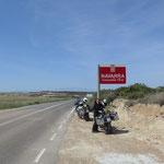 Der Grenzübertritt von Aragon nach Navarra