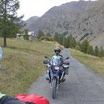 West-Rampe vom Col du Parpaillon