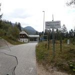 Fahrt zur slowenischen Panoramastrasse
