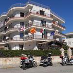 """in Alghero unser Hotel """"Villa Piras"""""""