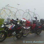 ....und der Nebel kam schneller als gedacht