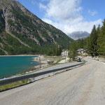 Auffahrt zum Colle de Nivolet