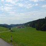Mühlviertel in Österreich