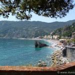 die Bucht von Monterosso
