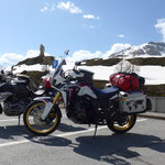 oben angekommen - Simplon-Pass