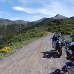 Aufstieg zur Arasan-Kammstrasse