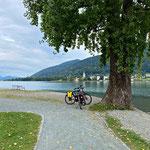 kleine Radtour rund um den See