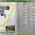 Roadbook zum Claraválls Hoehenweg
