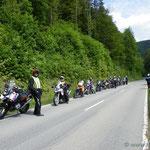 Halt zum Fotoshooting auf das Kloster auf dem Weg ins Bärental
