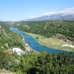 Obrovac im kroatischen Hinterland