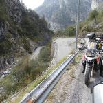 Auffahrt zum Nassfeld-Pass