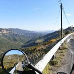 Thoard Richtung Col de Font Belle