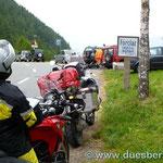 in die Schweiz über den Col de la Forclaz