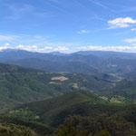 Coll del Canto mit Blick Richtung Osten ( Andorra)