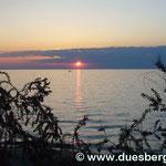 Sonnenuntergang in Umag