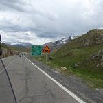 über den Col de Portet wieder zurück auf die spanische Seite der Pyrenäen