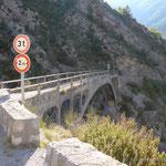 Gorges Daluis zum Col de Saint Léger