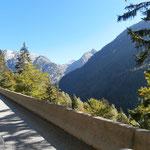 Fahrt Richtung Col de la Croix de Fer