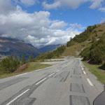 Aufstieg zum Col de l'Iseran
