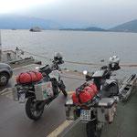Überfahrt von Laven nach Verbania am Lago Maggiore