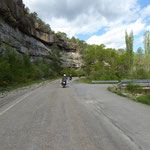 A 1604 im Guarga-Tal Richtung Laguarta