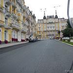 Marienbad (Marianske Lazne), eines der 3 Kaiserbäder in Böhmen