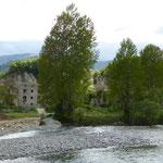 Jánovas, 1984 verließen die letzten Bewohner das Dorf zwecks Planung eines Stausees
