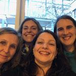 Meine Kolleginnen aus Venedig und Südtirol