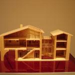 2ème étage - Maquette maison bourgeoise