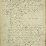 Stettin, St. Nikolai: eigenhändig verfasster Anschlag von Peter Migend, 1761, S. 2