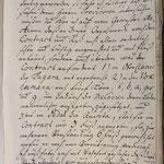 Stettin, St. Nikolai: eigenhändiges Orgelabnahme- gutachten von Christian Michael Wolff, 1763