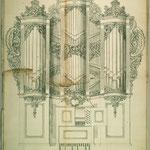 Stettin, St. Nikolai: Riss von Peter Migend, 1760