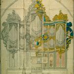 Ein ebenfalls in Stettin (mehrfach) vorgelegter Riss, der vermutlich um 1741 von Wagner-Migend für Trondheim entwickelt wurde.