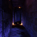 Château de Picquigny, le souterrain d'accès à la prison