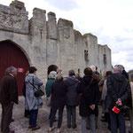 Visite de la VMF Vieilles Maisons Françaises avril 2015 château de Picquigny