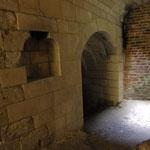 Château de Picquigny, Couloir d'accès aux souterrains