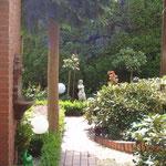 sehr gepflegte Gartenanlage Ferienwohnung Gartenidylle Ostfriesland Leer