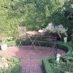 Gartenrondell Ferienwohnung Gartenidylle Ostfriesland Leer