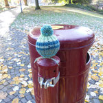 urban knitting teil 3 - und hier die kombination aus beidem!