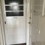 Eindresultaat schilderen van de deuren