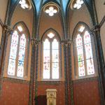 Restauratie v.h. koor gedeeltevan de Saint Jean Batiste kerk in Ancemont, Frankrijk (Na)