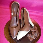 Chaussure(s) à talon tout chocolat ! à partir de 4.50 €