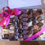 Plateau de chocolats. 25 € à 35 €.