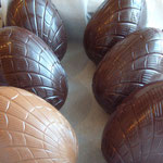 Les oeufs de Pâques. De 3 à 35 €.