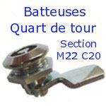 Batteuses Quart de tour