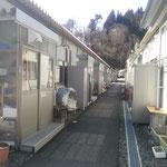 2月25日鵜住居仮設 これが一般的な仮設です